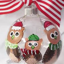 personalized owl family ornament owls owls and more owls