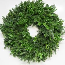 wreath mixed greenery wreaths
