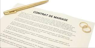 cout contrat de mariage changer de régime matrimonial temps libre magazine