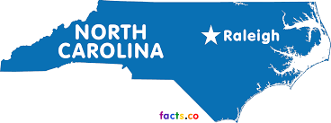 North Carolina Map With Cities North Carolina Map Blank Political North Carolina Map With Cities