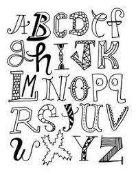 25 unique cool alphabet letters ideas on pinterest cool fonts