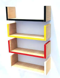 Corner Wall Bookcase Corner Hanging Shelf Fin Soundlab Club