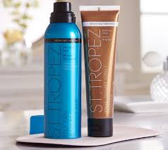 Best St Tropez Tan St Tropez Express Tan Mist U0026 Body Gloss With Mitt Page 1 U2014 Qvc Com