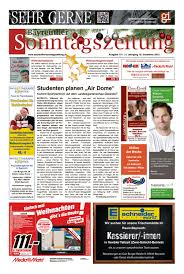 Svb Bad Bayreuth Bayreuther Sonntagszeitung Vom 15 10 2017 By Bayreuther