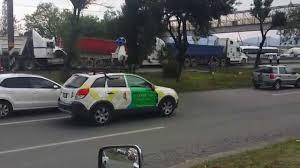 Google Map Mexico by Auto Camioneta De Google Maps Street View Capta Accidente En