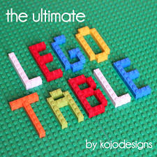the ultimate lego table