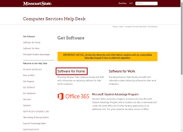 Student Help Desk by How To Purchase And Install Work At Home Software Experts