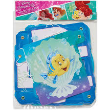 mermaid party supplies disney the mermaid birthday party banner party supplies
