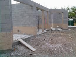 cinder block garage plans inspiring ideas 24 concrete block garage