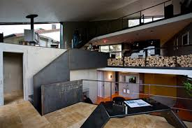 Home Plans With Interior Photos Cold Or Warm Concrete Box Houses An Open Plan Interior