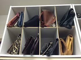 closet purse organizer storage u2014 steveb interior best closet