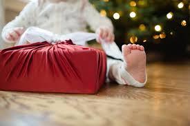 lilywrap stretchy reusable gift wrap saving time trees