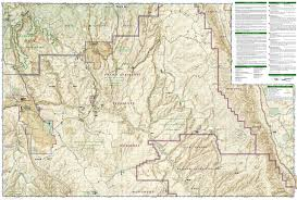 Stars Hollow Map Canyons Of The Escalante Grand Staircase Escalante National