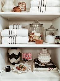 best way to display bath towels bathrooms cabinets