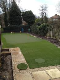 golf putting green installation in london huxley golf