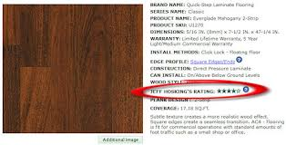 jeff hosking s laminate flooring rating system