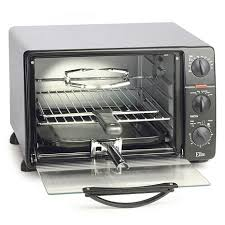 Cleveland Browns Toaster Elite Cuisine 8cu Ft Toaster Oven With Rotisserie 7231124 Hsn