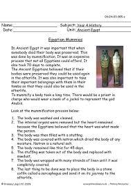 primaryleap co uk egyptian mummies worksheet