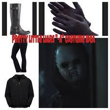 Pll Costumes Halloween Simple Halloween Costume Idea Black Hoodie