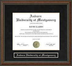 auburn diploma frame auburn at montgomery aum diploma frame everything