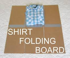 Oklahoma how to fold a shirt for travel images Shirt folding board from cardboard and duct tape 4 steps with jpg