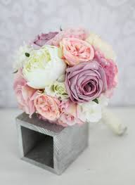 Shabby Chic Bridal Bouquet by Bridal Bouquet Purple Pink Pinterest Shabby Chic Wedding
