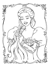 999 free coloring pages kid stuff princess