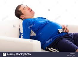Fat Couch Potatoes Fat Couch Tv Stock Photos U0026 Fat Couch Tv Stock Images Alamy