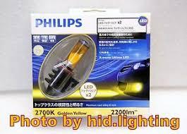 Led Light Bulbs 2700k by Philips X Treme Ultinon Led Light Bulb H8 H11 H16 Fog Lamp Golden