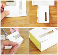 Blank Boxes To Decorate Design For Kids Paper Houses Babble Dabble Do