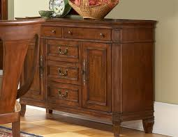 cotswold manor buffet in medium brown cherry finish by liberty