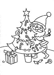 christmas tree coloring pages kids wallpapers9
