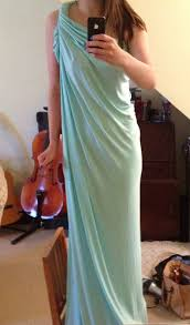 Draped Skirt Tutorial Diy Grecian Maxi Dress Simple 20 Min Tutorial Pauper To Princess