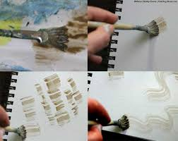 fan brush oil painting tips and techniques on fan brush painting