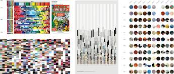 making of color palettes of the new yorker c82 works of