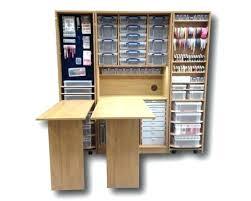 scrapbooking cabinets and workstations wardrobes craft wardrobe and workstation storage unit scrapbook