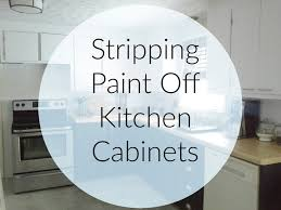 how to remove paint on kitchen cabinets lilly s home designs stripping paint kitchen cabinets