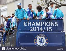 Chelsea Parade Chelsea Football Club Players And Staff Take A Victory Parade On
