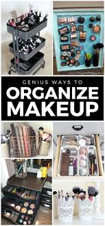 bathroom makeup storage ideas best 25 makeup organization ideas on desk