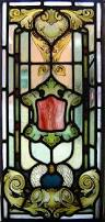 antique stained glass transom window faith hope u0026 charity three antique stained glass windows by