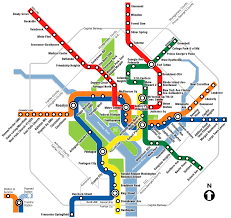 the metro map metrorail map washingtonpost