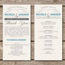 exles of wedding ceremony programs invitations for a wedding renewal vows ceremony wedding