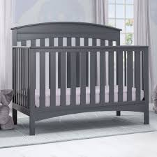 Delta Liberty Mini Crib Delta Children Bennington Elite Changing Table Charcoal Grey