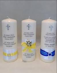 communion candles personalised candles holy communion candles wedding candles ireland
