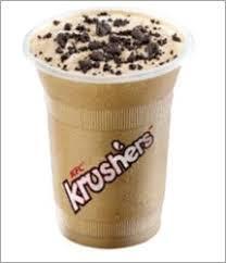 Coffee Kfc kfc introducing kfc krushers kafeccino