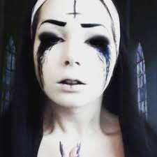 halloween possessed nun halloween pinterest costumes makeup