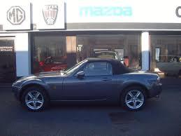mazda convertible blue used 2006 mazda mx 5 1 8 convertible for sale in torquay devon