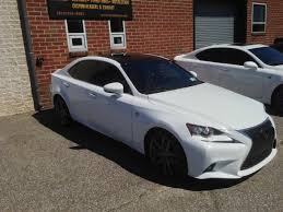 white lexus blacked out how much does roof vinyl wrap cost now days page 3 clublexus