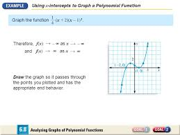 6 8 analyzing graphs of polynomial functions ppt video online