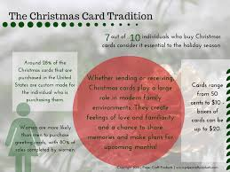 the christmas card tradition paper craft products